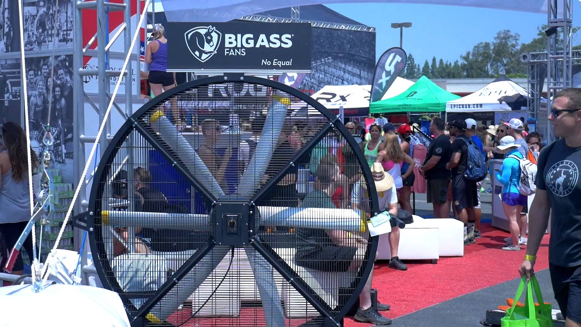 Big Ass Fan® Black Jack® | Rogue Fitness